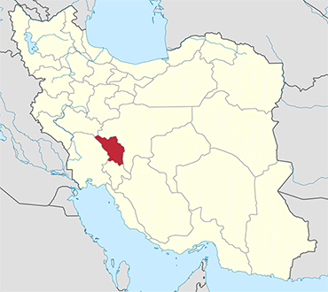 Chahar Mahaal Bakhtiari location in Iran's map