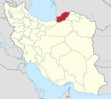 Hamadan location in Iran's map