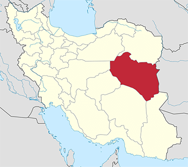 South Khorasan location in Iran's map