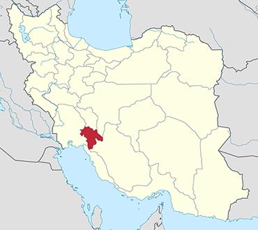 Kohgiluyeh Boyer Ahmad location in Iran's map
