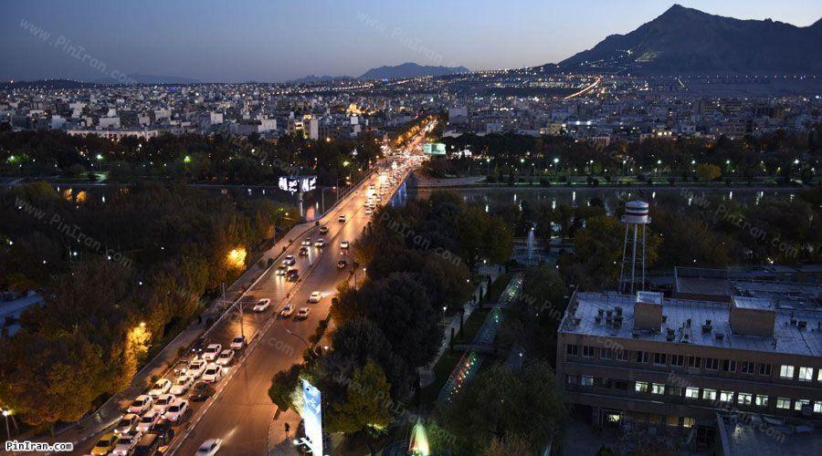Aseman Hotel Isfahan View