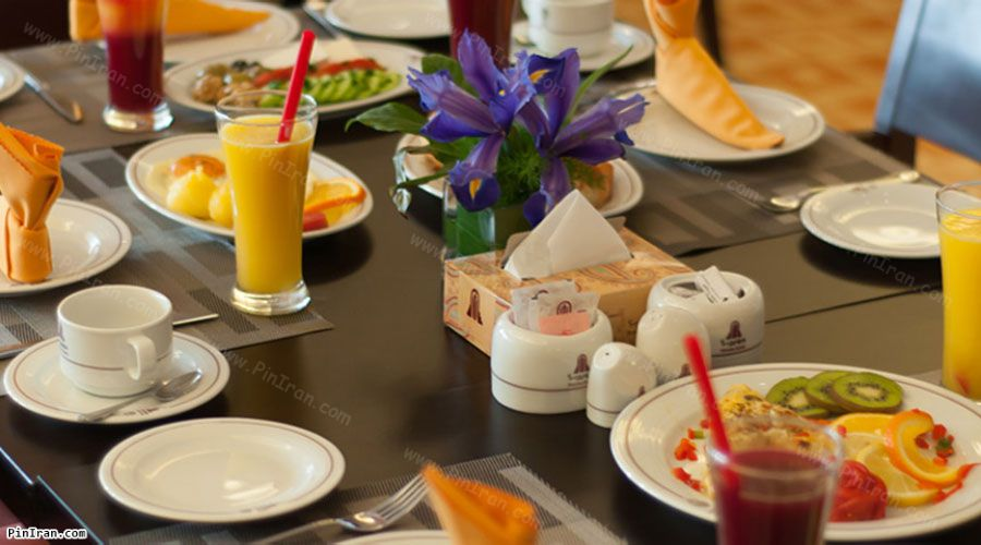 Azadi Hotel Tehran Parse Breakfast