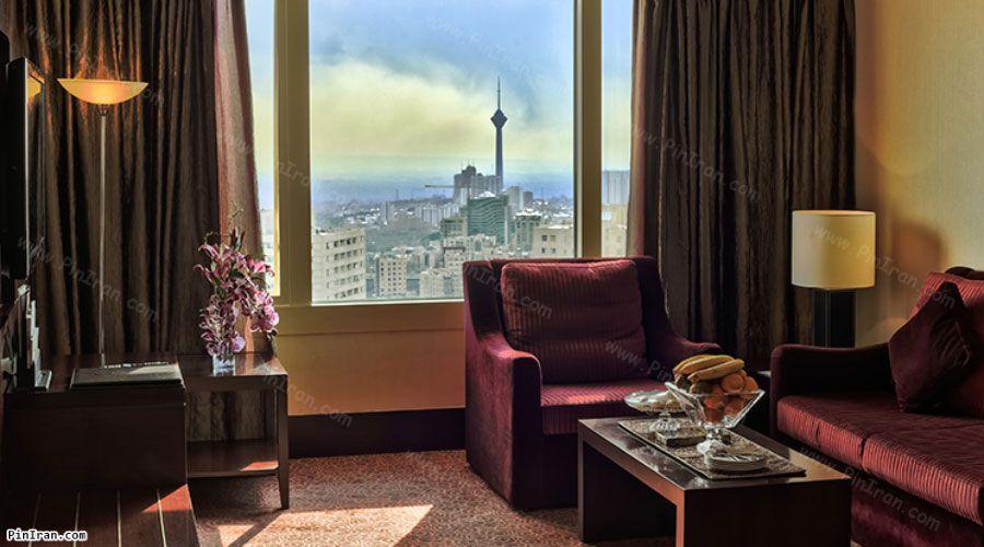 Azadi Hotel Tehran Royal Suite