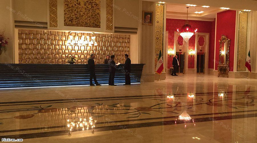 Espinas Hotel Tehran Lobby 2