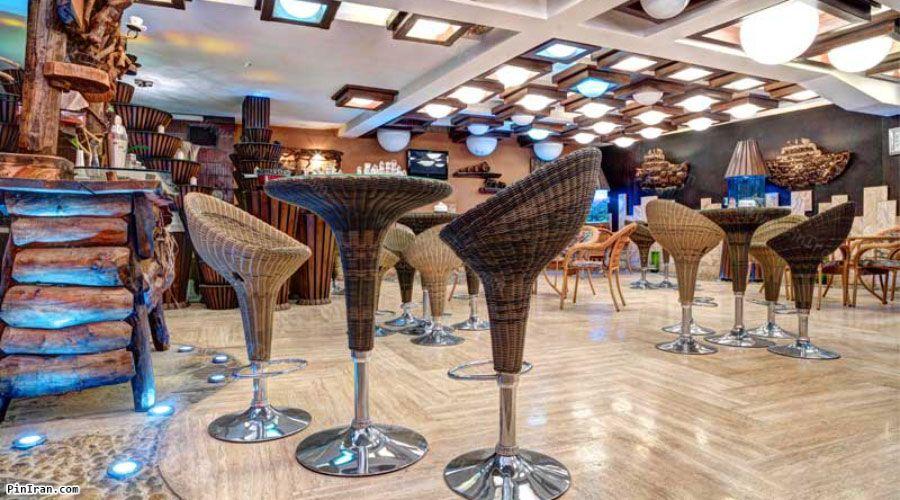 Ferdowsi Hotel Tehran Cafe