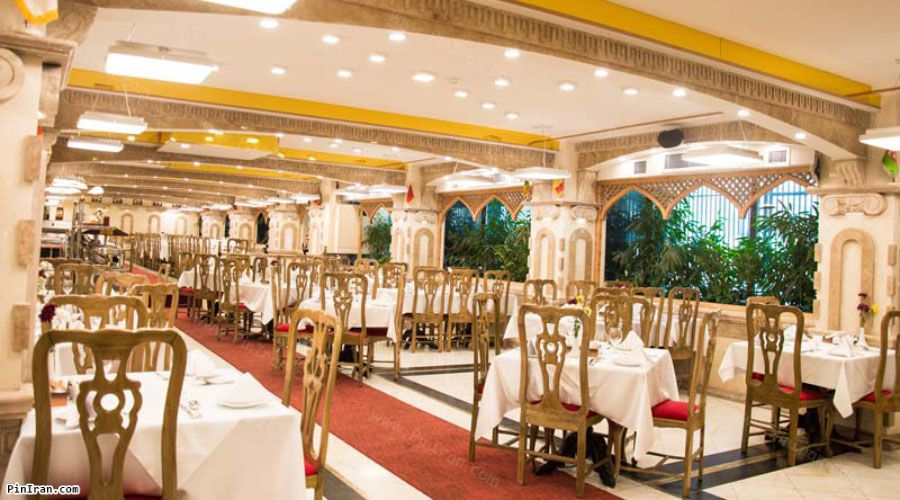 Ferdowsi Hotel Tehran Restaurant 2