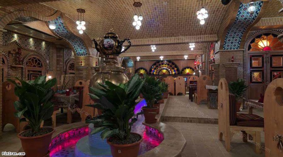 Ferdowsi Hotel Tehran Sofrekhane