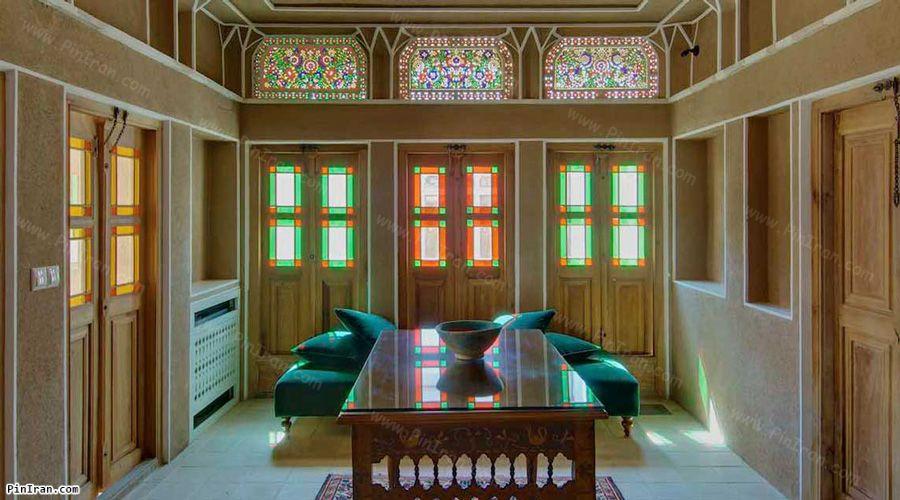 Manouchehri Traditional Hotel Kashan Corridor