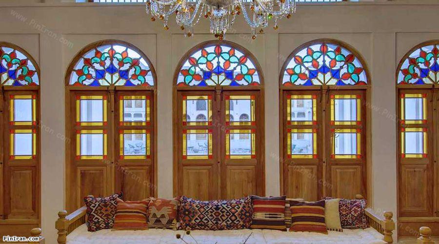 Manouchehri Traditional Hotel Kashan Lobby