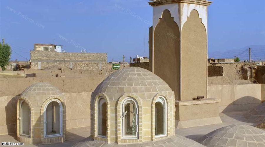 Manouchehri Traditional Hotel Kashan Roof