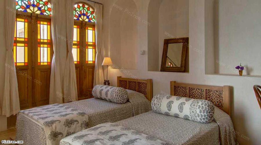 Manouchehri Traditional Hotel Kashan Room Twin