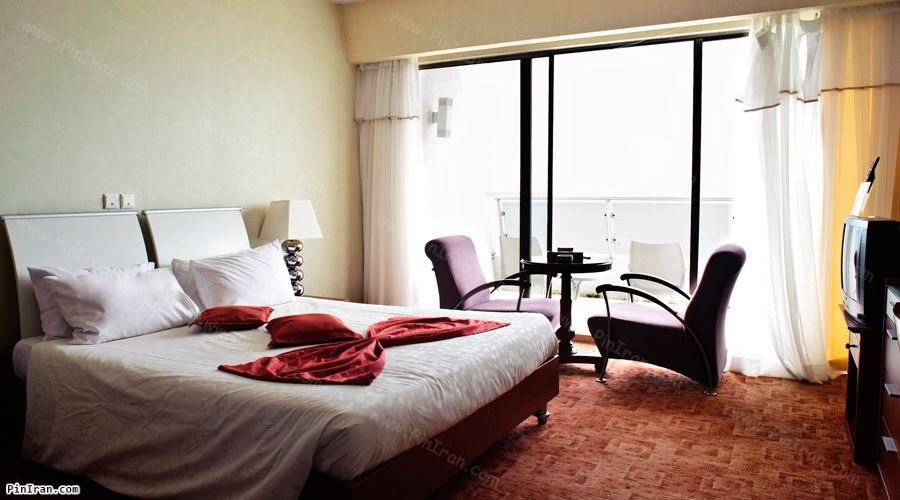 Parsian Azadi Khazar Hotel Chalus Room Sea