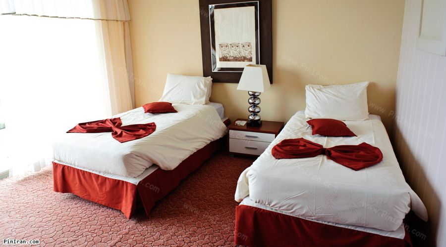 Parsian Azadi Khazar Hotel Chalus Room Twin