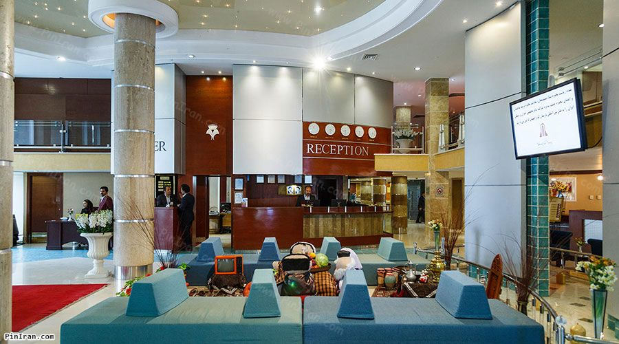 Parsian Kowsar Hotel Isfahan Lobby