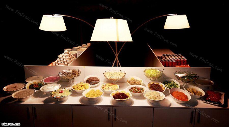 Toranj Hotel Kish Restaurant