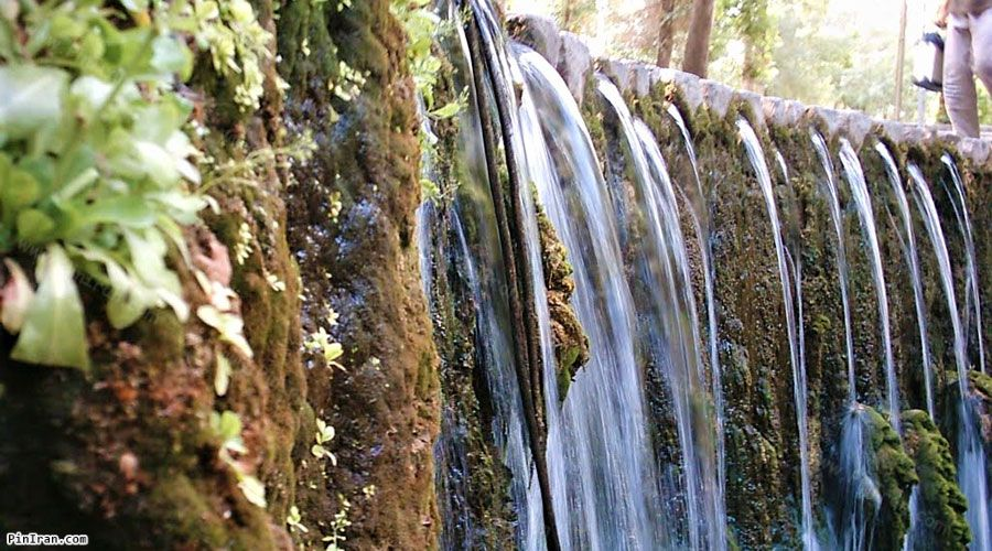 Baba Aman park waterfall