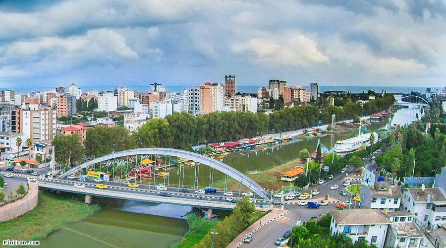 Babolsar Suspension Bridge 1
