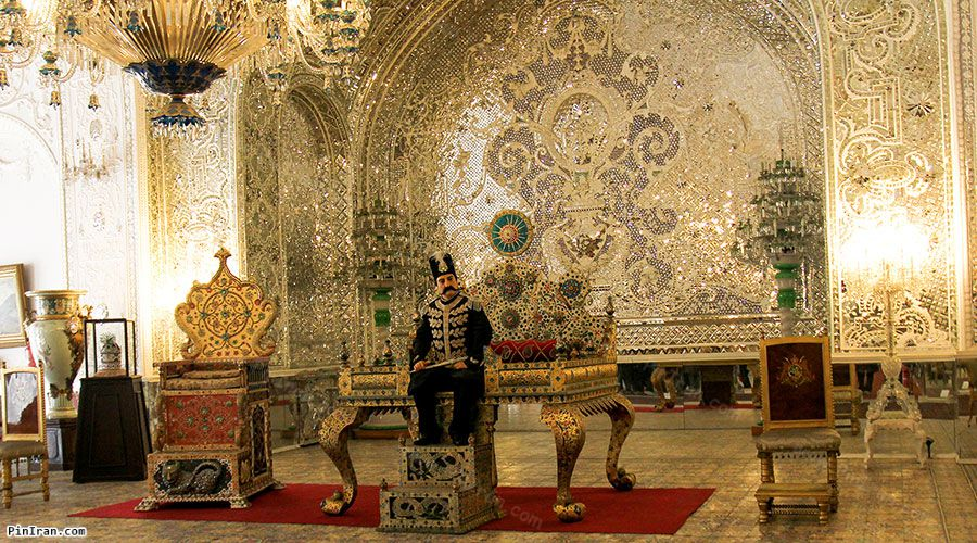 Golestan Palace Throne