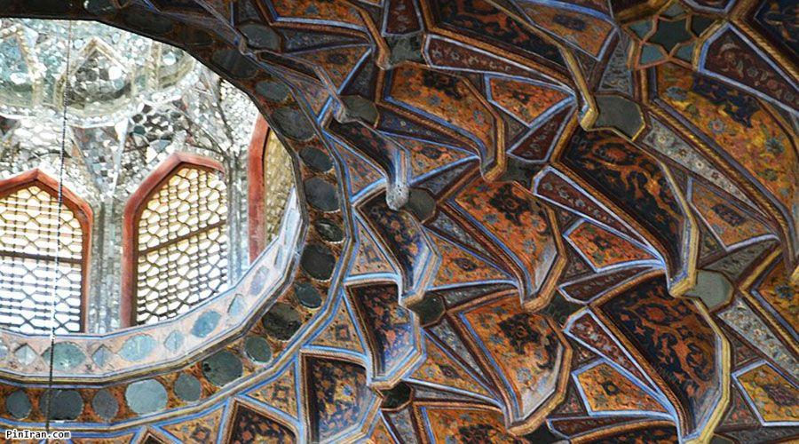 Hasht Behesht Palace architecture