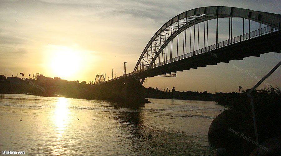 Karun River sunset