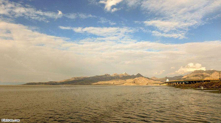 Lake Urmia sunset