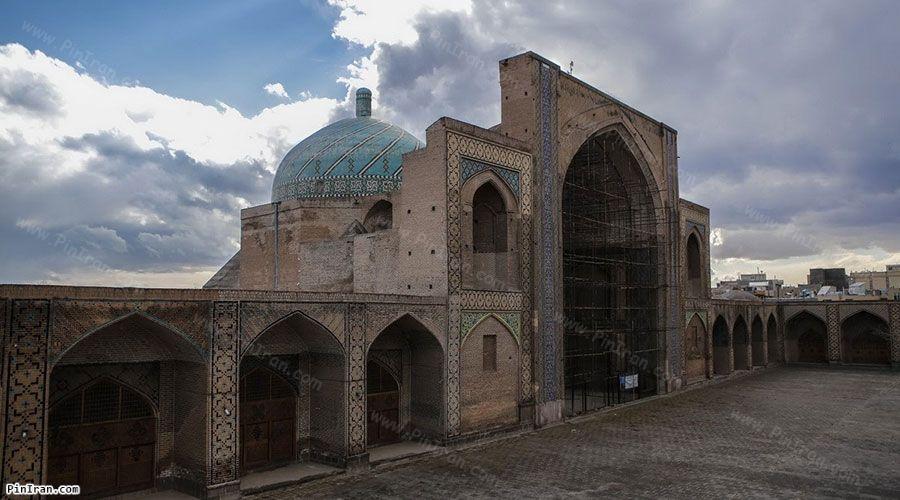 Qazvin Jameh Mosque 1
