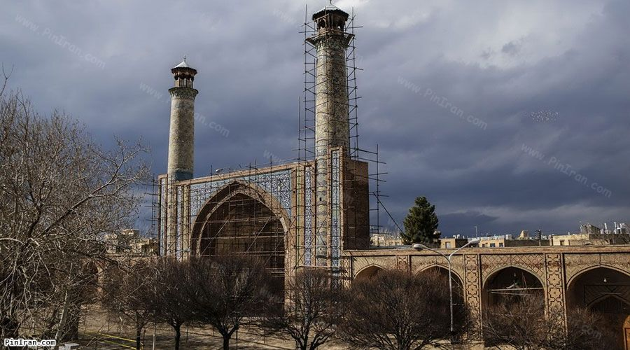 Qazvin Jameh Mosque 4