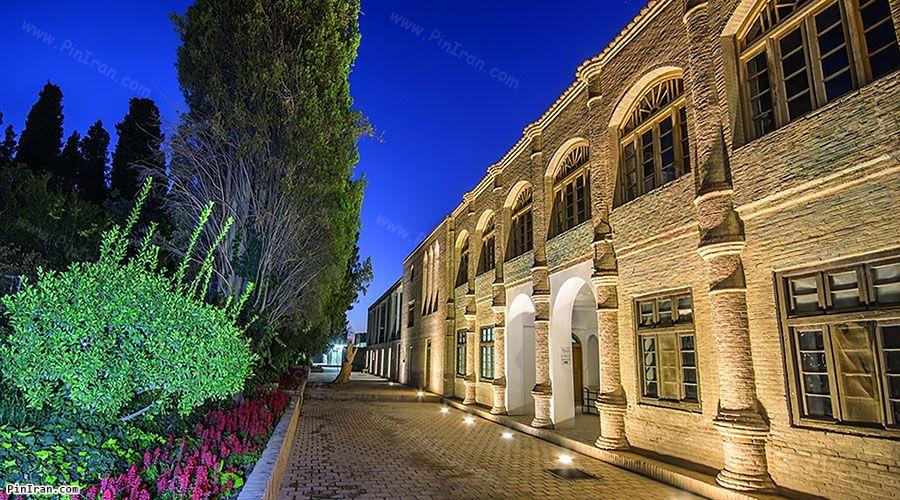 Night at Rahim Abad Garden