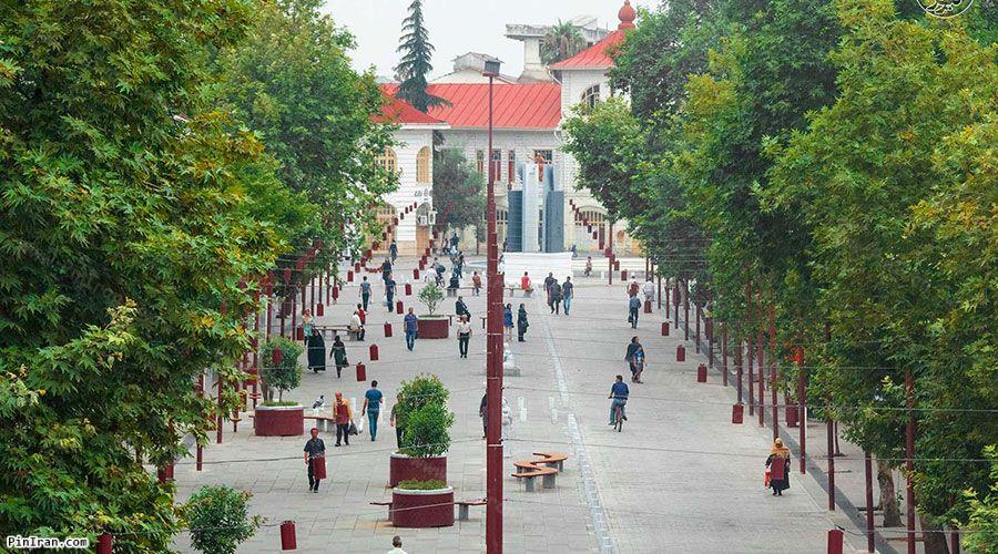 Rasht Shahrdari Square 2