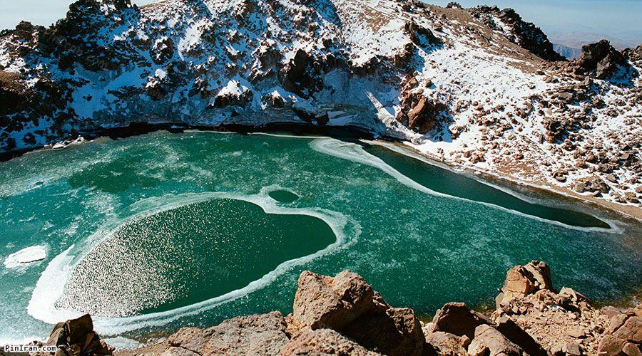 Sabalan Crater Lake 1