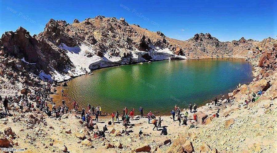 Sabalan Crater Lake 2
