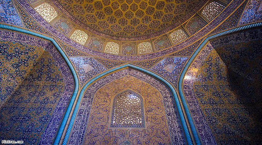 inside of Sheikh Lotfollah Mosque