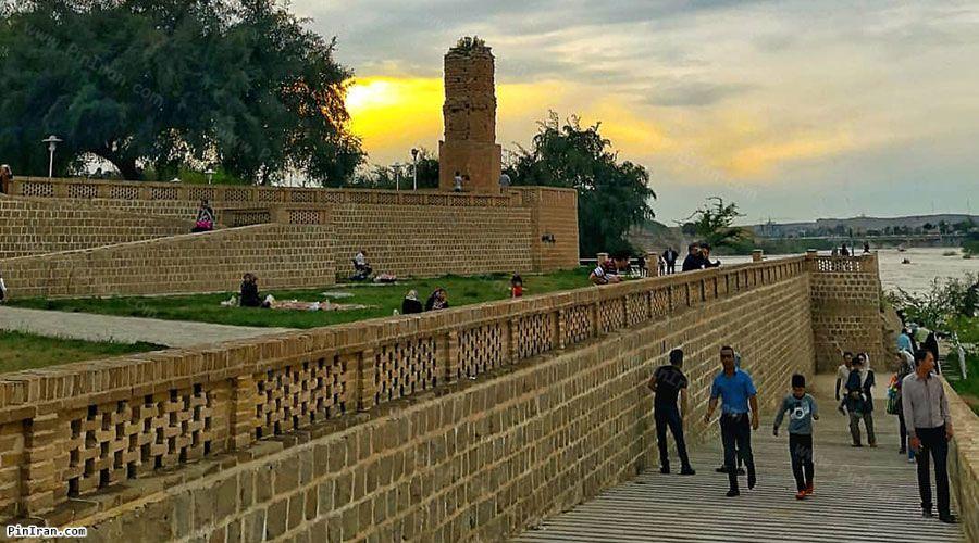 Shushtar Kolah Farangi Tower 1