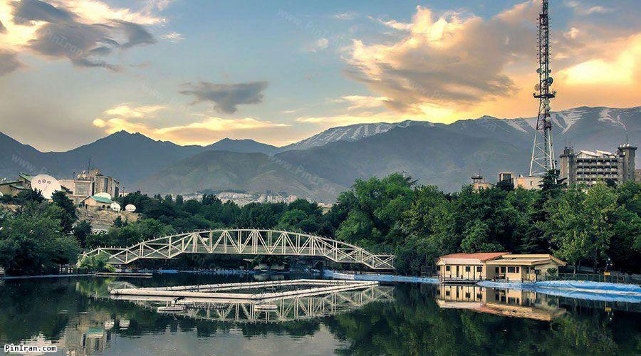 Tehran Mellat  Park 1