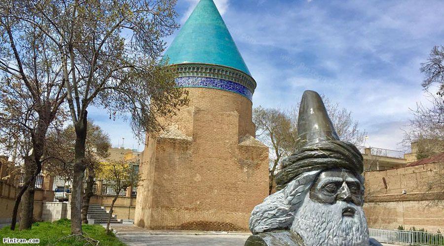 Tomb Hamdullah Mostofi 1