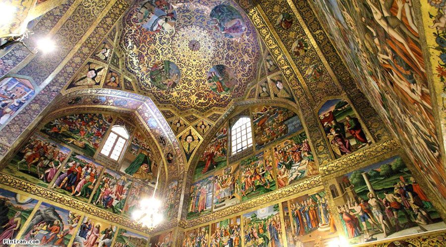 inside of Vank Cathedral