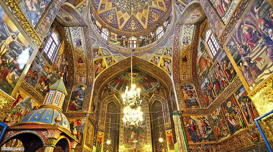 Vank Cathedral paints