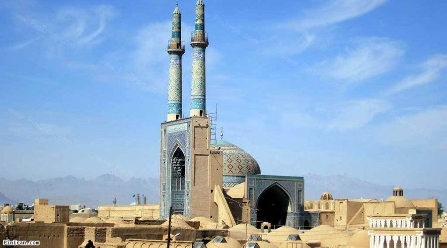 Yazd Jame Mosque 1
