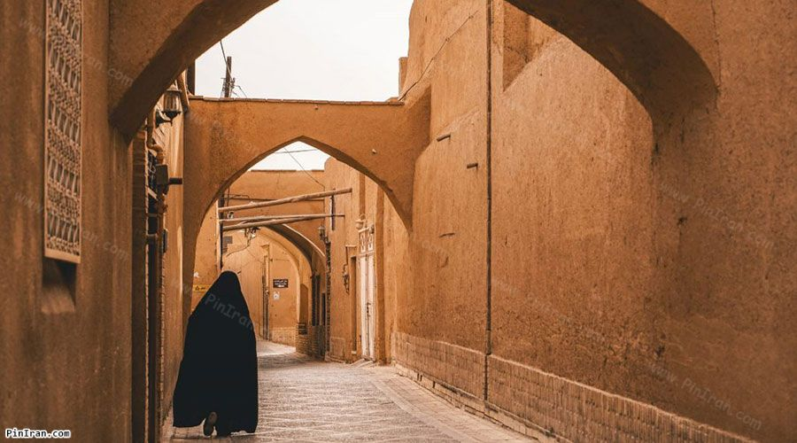 Old Town of Yazd alley