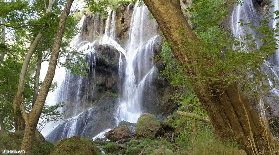 Zard Limeh Waterfall 1